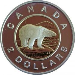 Монета > 2долара, 1998-2001 - Канада  - reverse
