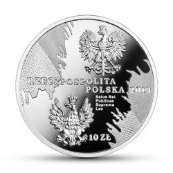 Moneta > 10 zlotų, 2019 - Lenkija  (Marshal of The Polish Sejm - Wojciech Trompczinski) - obverse