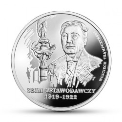 Moneta > 10 zlotų, 2019 - Lenkija  (Marshal of The Polish Sejm - Wojciech Trompczinski) - reverse