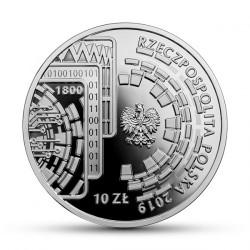 Coin > 10zlotych, 2019 - Poland  (100th Anniversary - PKO Bank Polski) - obverse