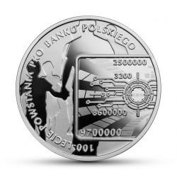 Coin > 10zlotych, 2019 - Poland  (100th Anniversary - PKO Bank Polski) - reverse