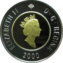 Монета > 2доллара, 1998-2001 - Канада  - obverse