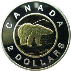 Монета > 2доллара, 1998-2001 - Канада  - reverse