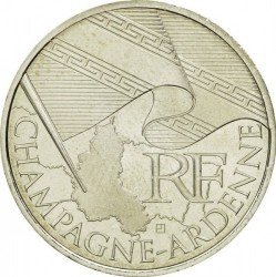 Moneda > 10euros, 2010 - Francia  (Regiones franceses - Champagne-Ardenne) - obverse