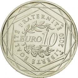 Moneda > 10euros, 2010 - Francia  (Regiones franceses - Champagne-Ardenne) - reverse