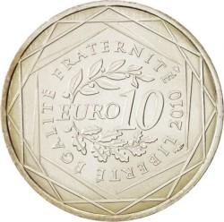 Moneda > 10euros, 2010 - Francia  (Regiones francesas - Île-de-France) - reverse