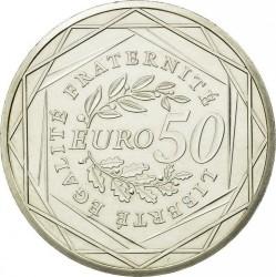 Moneda > 50euros, 2010 - Francia  (Sembradora) - reverse