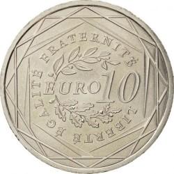 Moneda > 10euros, 2009 - Francia  (Sembradora) - reverse