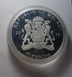 Moneta > 10kwacha, 2010 - Malawi  (Kondor kalifornijski) - reverse