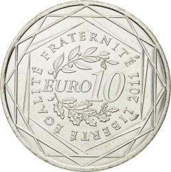Moneda > 10euros, 2011 - Francia  (Regiones francesas - Borgoña) - reverse