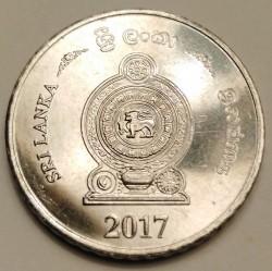 Moneta > 5rupie, 2017 - Sri Lanka  - obverse