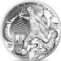 Монета > 10євро, 2018 - Франція  (2018 World Football Cup Russia) - obverse