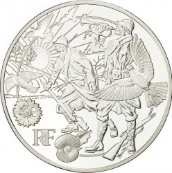 Coin > 10euro, 2018 - France  (100th Anniversary - End of the First World War) - obverse