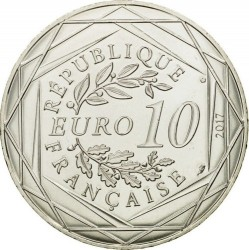 Coin > 10euro, 2017 - France  (French Riviera) - reverse