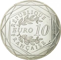 Coin > 10euro, 2017 - France  (Normandy) - obverse