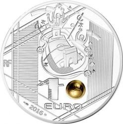 Νόμισμα > 10Ευρώ, 2016 - Γαλλία  (UEFA European Championship 2016 /kicking the golden ball/) - obverse