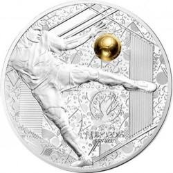 Νόμισμα > 10Ευρώ, 2016 - Γαλλία  (UEFA European Championship 2016 /kicking the golden ball/) - reverse
