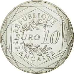 Coin > 10euro, 2016 - France  (Marseille) - obverse