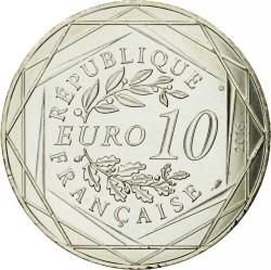 Coin > 10euro, 2016 - France  (Mont Saint-Michel) - obverse