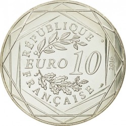 Coin > 10euro, 2016 - France  (Palace of Versailles) - reverse