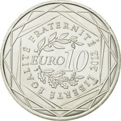 מטבע > 10אירו, 2012 - צרפת  (French Regions - Languedoc-Roussillon) - reverse