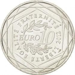 Moneda > 10euros, 2012 - Francia  (Regiones francesas - Reunión) - reverse