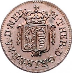 Moneta > 1kvatrinas, 1776-1779 - Milanas  - obverse