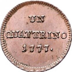 Moneta > 1kvatrinas, 1776-1779 - Milanas  - reverse