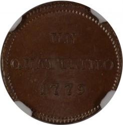 Νόμισμα > 1Κουατρίνο, 1776-1779 - Milan  - reverse