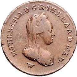 Монета > 1сольдо, 1777-1779 - Мілан  - obverse
