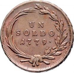 Монета > 1сольдо, 1777-1779 - Мілан  - reverse