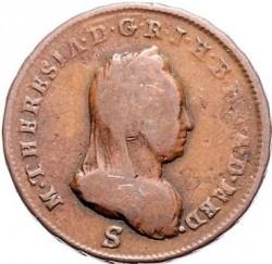 Монета > 1солдо, 1777-1779 - Миланско херцогство  - obverse