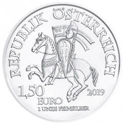 Moneta > 1½euro, 2019 - Austria  (825 rocznica - Mennica wiedeńska) - obverse