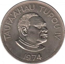 Münze > 2Paʻanga, 1968-1974 - Tonga  - obverse