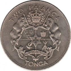 Münze > 2Paʻanga, 1968-1974 - Tonga  - reverse