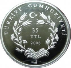 Münze > 35neueLira, 2008 - Türkei  (Hodscha Nasreddin) - obverse