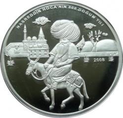 Münze > 35neueLira, 2008 - Türkei  (Hodscha Nasreddin) - reverse