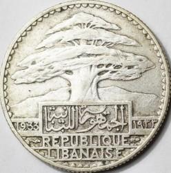 Moneta > 50piastrų, 1929-1936 - Libanas  - obverse