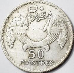 Moneta > 50piastrų, 1929-1936 - Libanas  - reverse