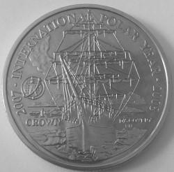 Moneta > 1korona, 2007 - Falklandy  (Międzynarodowy Rok Polarny) - obverse