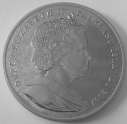 Moneta > 1korona, 2007 - Falklandy  (Międzynarodowy Rok Polarny) - reverse
