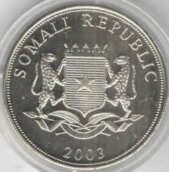 Moneta > 10scellini, 2003 - Somalia  (Protezione della vita marina - Pesci) - reverse
