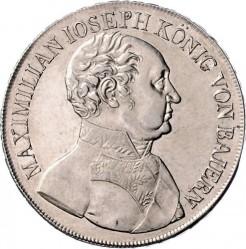 Кованица > 1thaler, 1822-1825 - Bavaria  - obverse