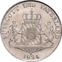 Кованица > 1thaler, 1822-1825 - Bavaria  - reverse