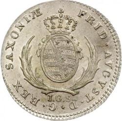 Moneta > 1/12tallero, 1806-1818 - Sassonia  - obverse