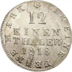 Moneta > 1/12tallero, 1806-1818 - Sassonia  - reverse