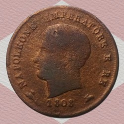 Монета > 3чентезимо, 1807-1813 - Італія  - reverse
