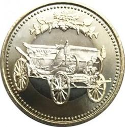 Moneta > 500yen, 2019 - Giappone  (30° anniversario - Intronizzazione dell'imperatore Akihito) - obverse