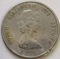 سکه > 10سنت, 1996 - کاراییب شرقی  - obverse