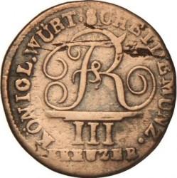 Кованица > 3крајцера, 1807-1814 - Virtemberg  - obverse